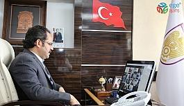 Genel Sekreter Kaya, online görüştü