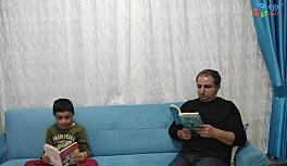 Gercüş'te 'Evde hayat var, kitap okumakta yarar var' kampanyası