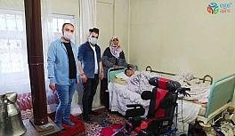 Hakkarili İrdem'e engelli puseti desteği