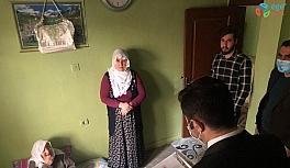 Kaymakam Köleoğlu'ndan yaşlılara 'Anneler Günü' ziyareti