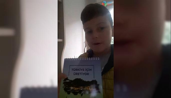 Minik Ilgar'dan Eren Enerji'ye videolu teşekkür