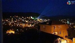 Nallıhan'da 19 Mayıs'a özel lazerli gösteri
