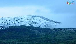 Posof'a bayramda kar sürprizi