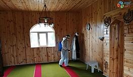 Terme'de camiler ibadete hazır