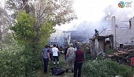 Tokat'ta yaşlı adam yangında hayatını kaybetti
