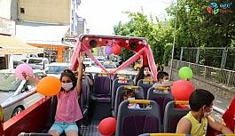 Tunceli'de 14 yaş altına tur otobüsüyle şehir turu