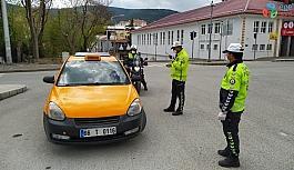 Yozgat'ta toplu taşıma araçlarında korona virüs denetimi yapıldı