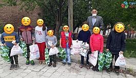 Yüzlerce Türkmen muhacir çocuğu bayramda sevindirildi