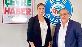 A Türk Haber'den Ege Ajans'a Gamzeli Ziyaret