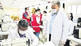 Bornovalılara yarım milyon maske