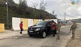 Kozluk'ta 11 ev karantinaya alındı