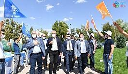 Ak Parti Yakutiye ilçe kongresi yapıldı