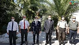 Batur'dan gazilere vefa ziyareti