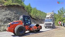 Dalaman'ın en uzak mahallesine asfalt