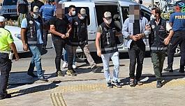 Didim'deki operasyonda adliyeye sevk edilen 2 şüpheli tutuklandı