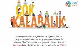 EBA'dan Yoğunluk Uyarısı