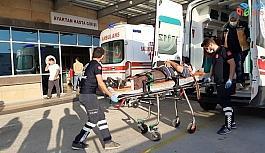 Elektrik direğinden düşen şahıs ağır yaralandı