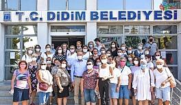 Emekçi kadınlardan Başkan Atabay'a destek