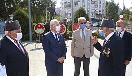 Gaziler Karabağlar'da da unutulmadı