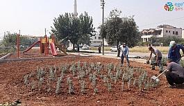 Kozan'da parklar yenileniyor