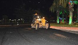 Posbıyık asfalt çalışmaları için özür diledi
