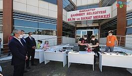 Tahmazoğlu ve Kaymakam Şahin okulları ziyaret etti