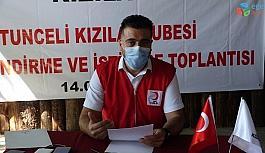 Türk Kızılayı Tunceli'de 8 ayda 14 bin 300 aileye ulaştı