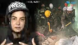 CNN TÜRK muhabiri gözyaşlarını tutamadı