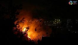 Hatay'daki yangın etkisini artırdı