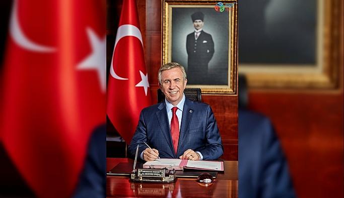 """Mansur Yavaş'tan """"Atatürk'ün Ankara hemşehriliği"""" mesajı"""