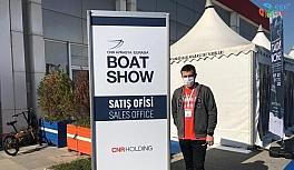 Su Üstünde ekibi Avrasya Boat Show 2021 Fuarı'nda