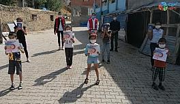 Tunceli'de, bin 868 çocuk ve gence kitap