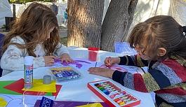 Depremzede çocuklara moral etkinlikleri!