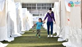 Dünya'nın yardımı Bornova'da toplandı