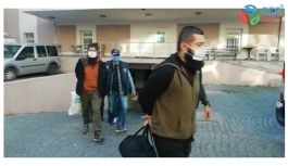 İZMİR'DE YAPILAN  DAEŞ OPERASYONUNDA 5 KİŞİ GÖZALTINA ALINDI