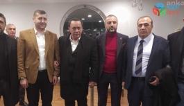 ALAATTİN ÇAKICI'YI MHP'Lİ BAKİ ERSOY KARŞILADI