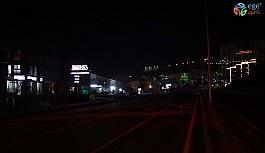 Kuşadası çevre yolundaki aydınlatma sorunu trafik kazalarına davetiye çıkarıyor