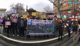 BURSA'DA BOĞAZİÇİ DİRENİŞİ'NE DESTEK VEREN ÖĞRENCİLERE GÖZALTI