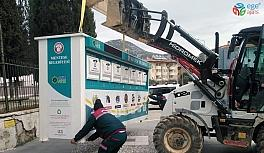 Menteşe'ye modern atık getirme merkezleri