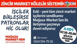 """""""KÖLE OLMAK İSTEMİYORUZ"""" MARKET ÇALIŞANLARININ SESİNİ DUYUN!"""