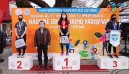 ORYANTİRİNG YARIŞLARI BERGAMA KOZAK YAYLASI'NIN EŞSİZ DOĞASINDA YAPILDI