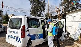 Aydın Büyükşehir Belediyesi dezenfekte çalışmalarını sürdürüyor