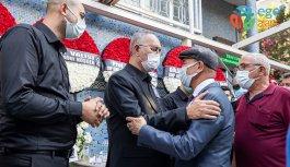 CHP MİLLETVEKİLİ SERTEL'İN EŞİ SON YOLCULUĞUNA UĞURLANDI