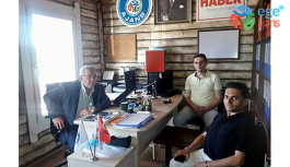 EGE AJANS'A CHP'DEN NEZAKET ZİYARETİ
