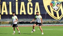 Aliağaspor FK'da Neşeli Antrenman