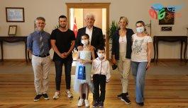 Büyükşehir Konservatuarı'nın Başarılı Öğrencilerinden Başkan Gürün'e Ziyaret