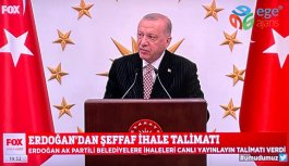 Cumhurbaşkanı Erdoğan'dan İhaleleri Canlı Yayınlayın Talimatı
