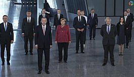Cumhurbaşkanı Erdoğan, NATO Liderler Zirvesi'nde aile fotoğrafı çekildi