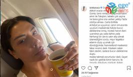Işın Karaca Uçakta Kabin Amiriyle Tartıştı!