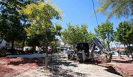 Karabağlar'da Uzundere Meydan Projesi başladı